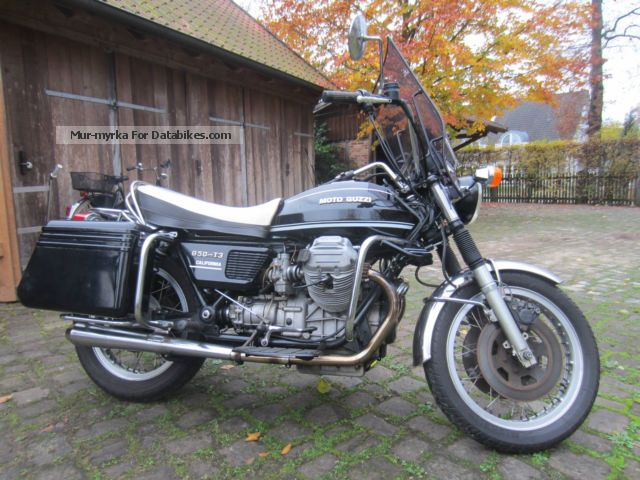 Moto Guzzi  T3 California 1 1979 Vintage, Classic and Old Bikes photo