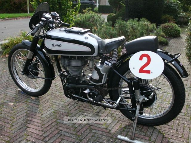 Norton  racing machine 1949 Vintage, Classic and Old Bikes photo