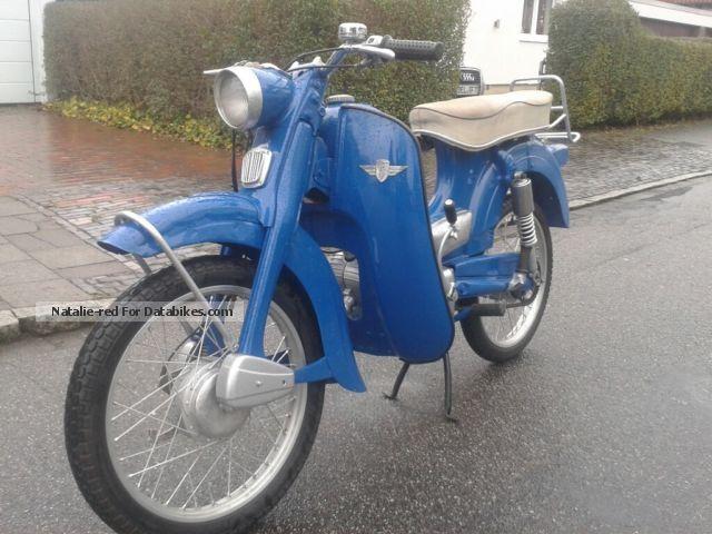 1967 Zundapp  Zündapp 433-022 Motorcycle Motor-assisted Bicycle/Small Moped photo