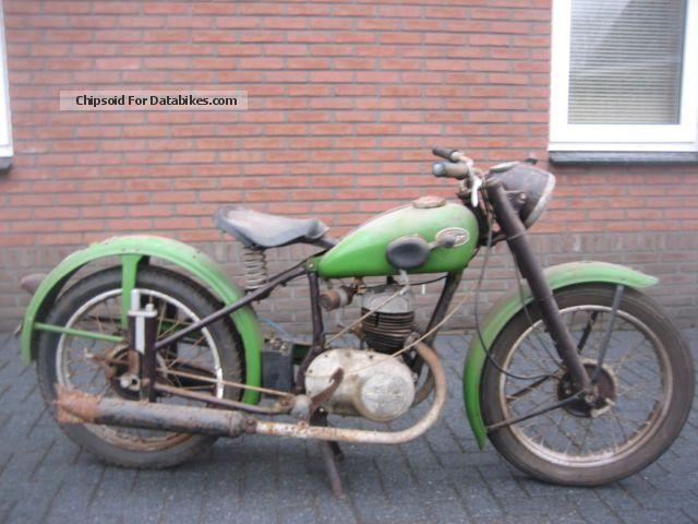 Zundapp  Zündapp DB 200 BARN FUND EZ: 12-1951 1951 Vintage, Classic and Old Bikes photo