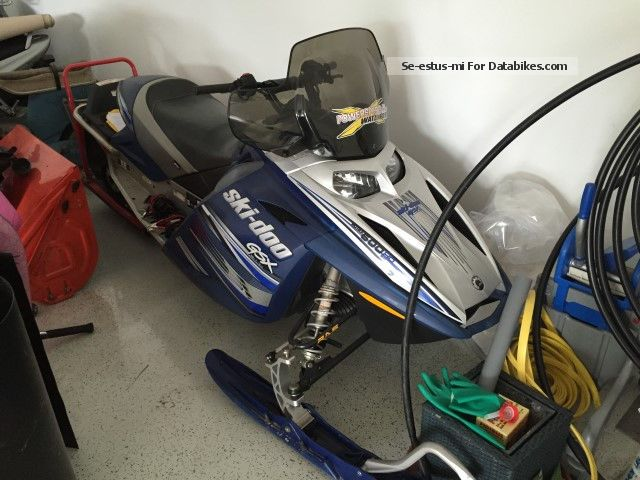2006 Bombardier  BRP Ski-Doo GSX Limited 600 HO Motorcycle Other photo