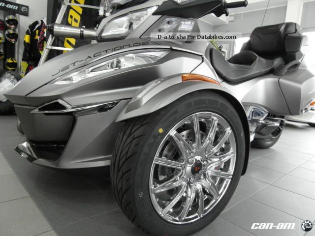 2012 Bombardier  BRP Can-Am Spyder RT Limited SE6 2014 NEW Motorcycle Trike photo