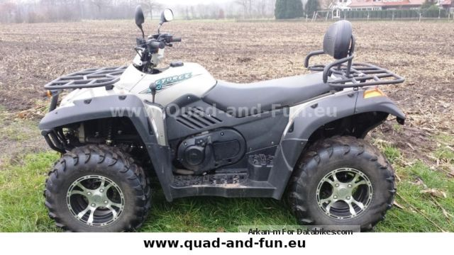 2014 CFMOTO  CFORCE 5004x4 incl. LoF Motorcycle Quad photo