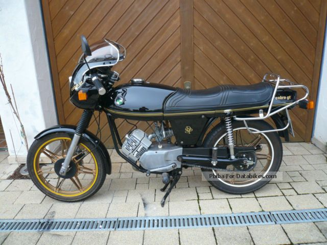 Puch  Cobra (M 50 jet) engine M 80 1978 Vintage, Classic and Old Bikes photo