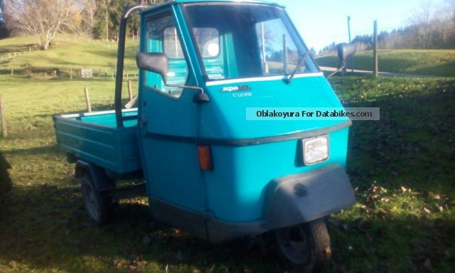 1994 Piaggio  Ape 50cc Motorcycle Motor-assisted Bicycle/Small Moped photo