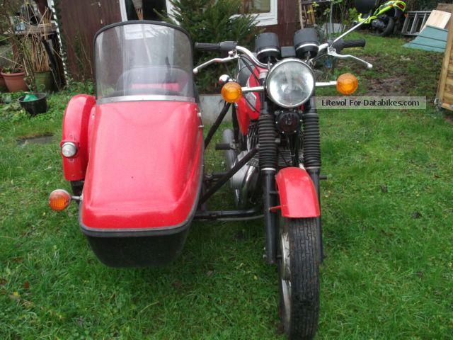1987 Jawa  350 Motorcycle Combination/Sidecar photo