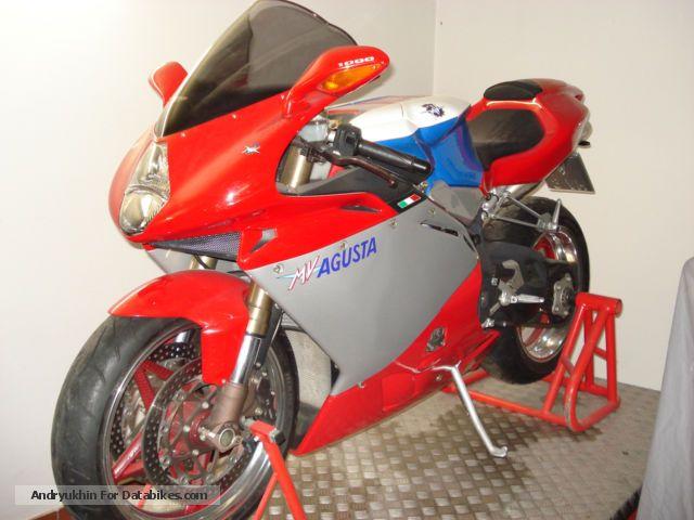 2004 MV Agusta  1000 F4 1 + 1 Motorcycle Sports/Super Sports Bike photo