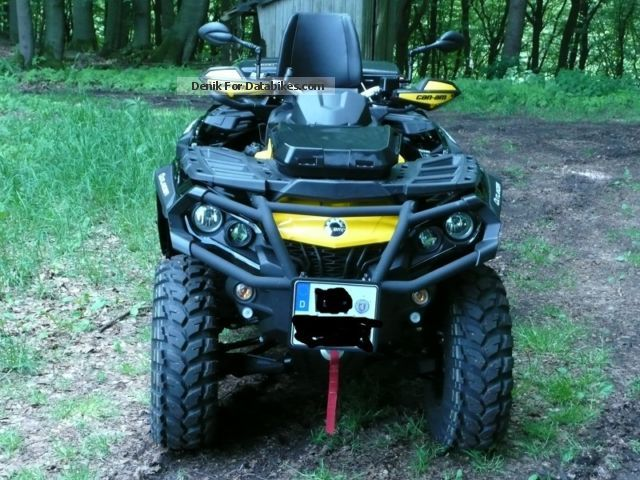 2014 Can Am  Outlander 800 Max XT P Motorcycle Quad photo