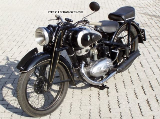 DKW  350 NZ 1938 Vintage, Classic and Old Bikes photo