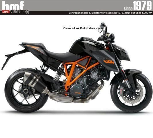 2014 KTM  1290 Super Duke R ABS Motorcycle Naked Bike photo