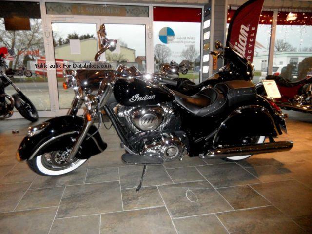 2014 Indian  Chief Classic Jekill & amp; Hyde & amp; Lenkerumbau Motorcycle Chopper/Cruiser photo