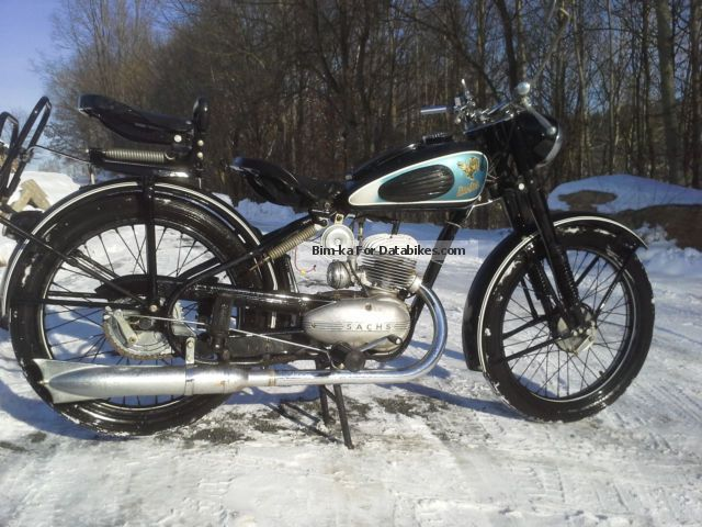 Sachs  Champion 150cc 1951 Vintage, Classic and Old Bikes photo