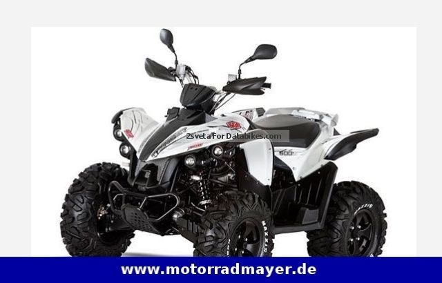 2014 TGB  Target ISR 500 4X4 Motorcycle Quad photo
