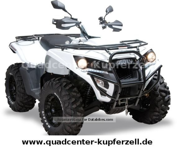 Herkules  Conquest 600 4x4 LOF \u0026 amp; Winter package as an option 2012 Quad photo