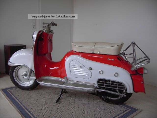 1957 Zundapp  Zündapp Bella Motorcycle Scooter photo