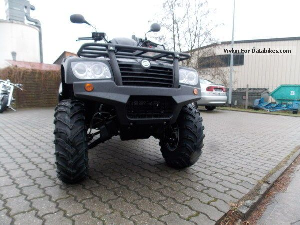 2012 Other  CF Moto CF500 CF500 one 4X4 XL 4X4 Motorcycle Quad photo