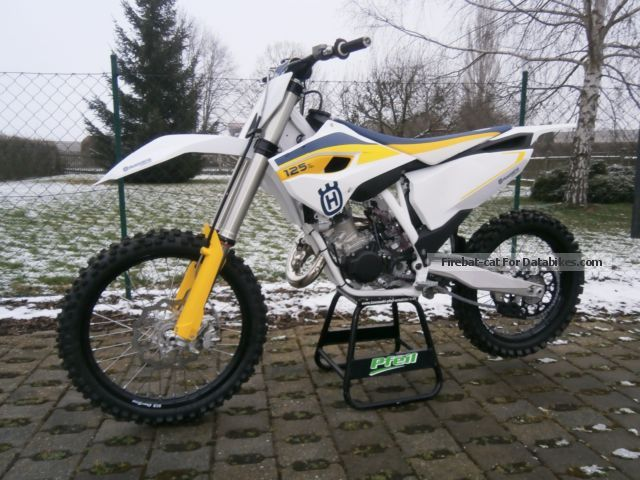2015 Husqvarna  TC 125 Motorcycle Dirt Bike photo