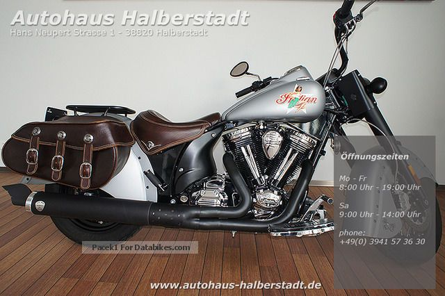 2011 Indian  Chief Bomber Limited Edition Nr.012 Motorcycle Chopper/Cruiser photo