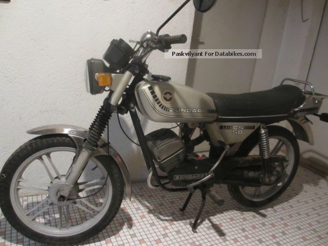 Zundapp  Zündapp moped CS 50 type 448 1979 Vintage, Classic and Old Bikes photo