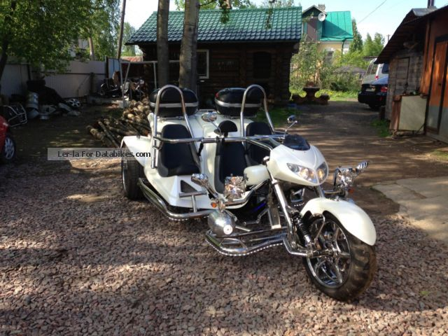 2010 Boom  Trike FX 12 Motorcycle Motorcycle photo