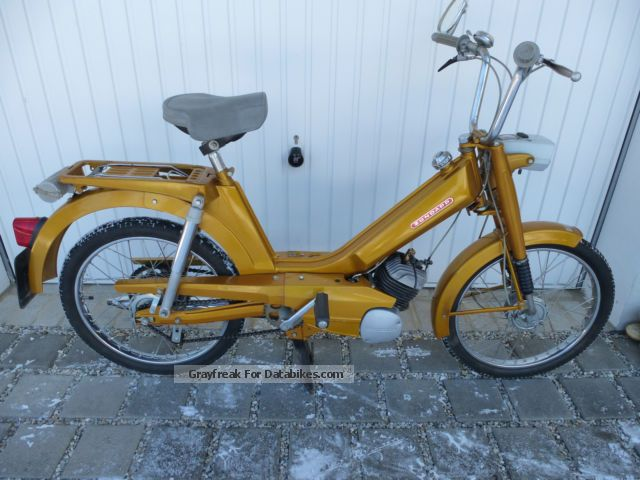 Zundapp  Zündapp automatic moped type 442170 1972 Vintage, Classic and Old Bikes photo