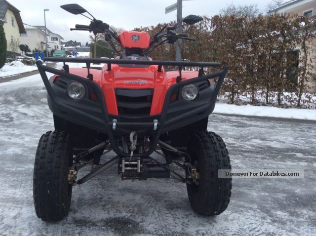 2006 Dinli  Masai A 450 with 48 hp + winch & amp; Sport Exhaust Motorcycle Quad photo