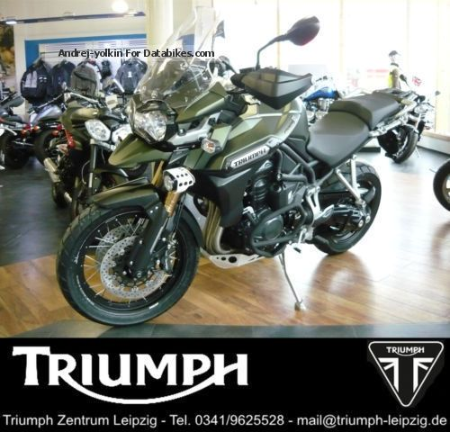 2014 Triumph  TIGER EXPLORER XC * ACCESSORIES & amp; 4-YEAR WARRANTY Motorcycle Motorcycle photo