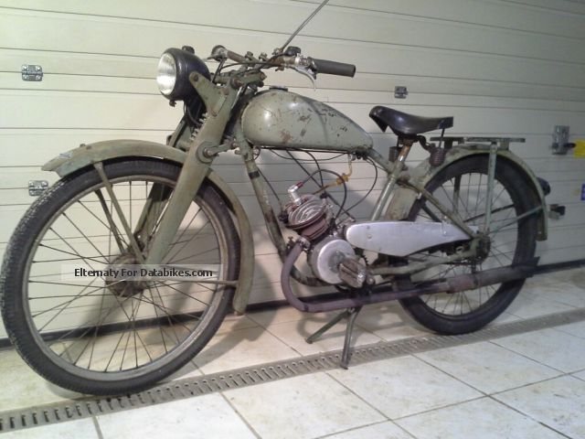 1949 Sachs  Express TANK CIRCUIT Motorcycle Motor-assisted Bicycle/Small Moped photo