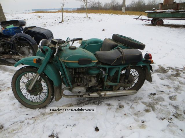 1984 Ural  Dnepr M-67-36 Motorcycle Combination/Sidecar photo