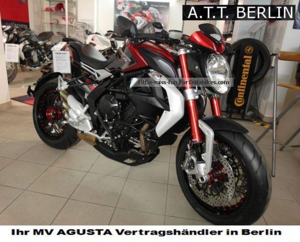 2012 MV Agusta  Brutal Dragster-800RR just greedy! Motorcycle Naked Bike photo