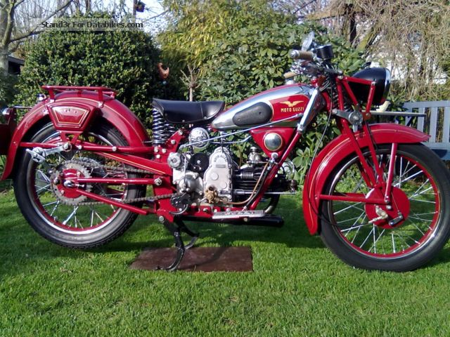 Moto Guzzi  GTS 1937 Vintage, Classic and Old Bikes photo