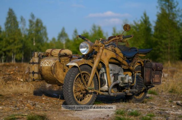 Zundapp  Zündapp KS 750 Wehrmacht BMW R75 sidecar no 1943 Vintage, Classic and Old Bikes photo
