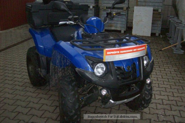 2013 SYM  Raider 600 Motorcycle Quad photo