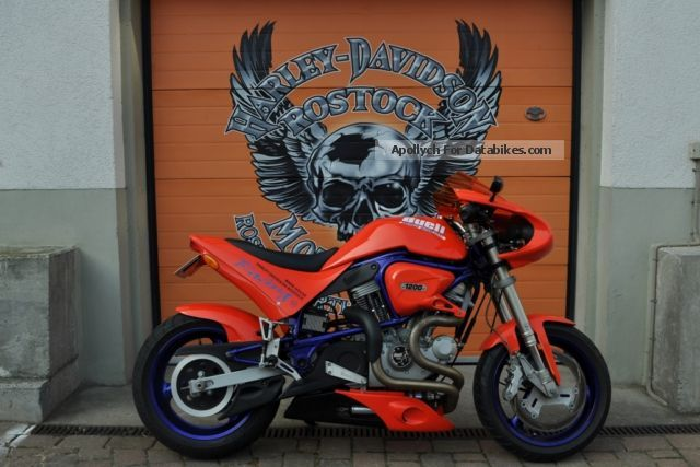 2000 Buell  S1 LIGHTNING Motorcycle Streetfighter photo