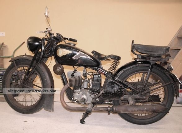 DKW  KS 200 with DEKRA full report 1940 Vintage, Classic and Old Bikes photo