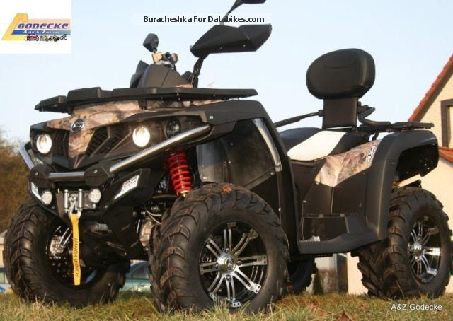 2012 CFMOTO  CForce LOF 550 4x4 Motorcycle Quad photo