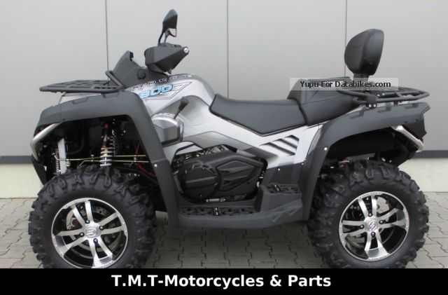 2012 CFMOTO  CForce 800 LOF Financing Available !!! Motorcycle Quad photo