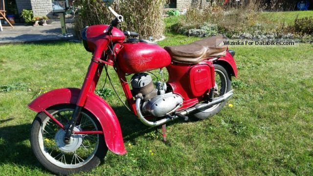Jawa  356 dual port 1956 Vintage, Classic and Old Bikes photo