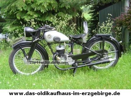 Zundapp  Zündapp DBL 200 1934 Vintage, Classic and Old Bikes photo