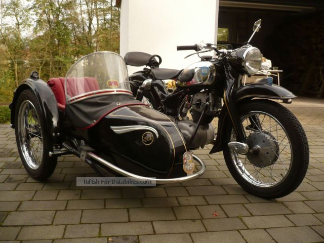 NSU  MAX 1957 Vintage, Classic and Old Bikes photo