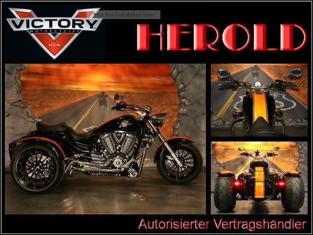 2014 VICTORY  Vegas Special Tag - Custom Trike - CT1700V Motorcycle Trike photo