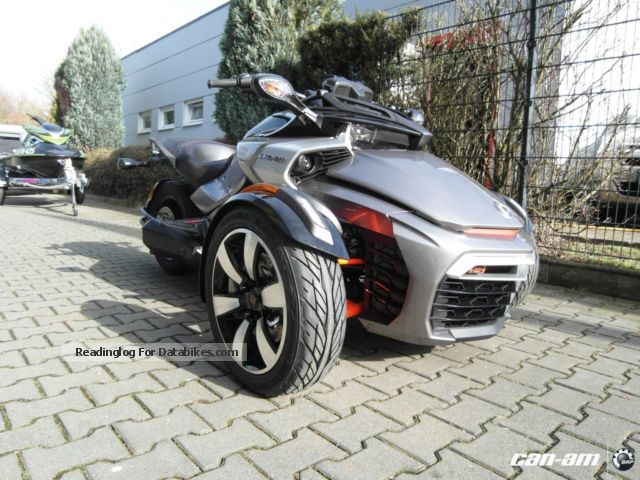 2012 BRP  Can-Am Spyder F3 S SE6 MY2015 Motorcycle Chopper/Cruiser photo
