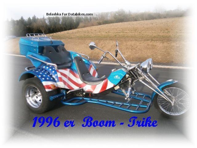 1996 Boom  Family Motorcycle Trike photo