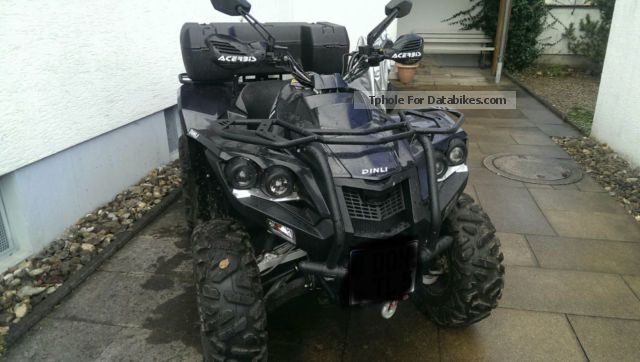 2013 Dinli  Evo 800 4x4 Motorcycle Quad photo