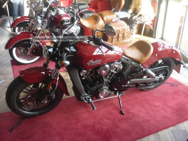 2015 Indian  Scout 2015 5 years warranty Motorcycle Chopper/Cruiser photo