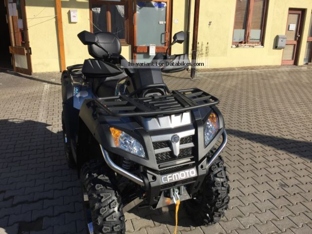 2012 CFMOTO  CForce 800 EPS servo LOF Motorcycle Quad photo
