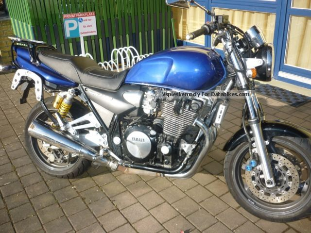1999 WMI  XJR 1300 SP Motorcycle Naked Bike photo
