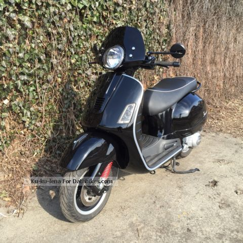 2014 Vespa  Gts 300 i.e. SuperSport Motorcycle Motorcycle photo