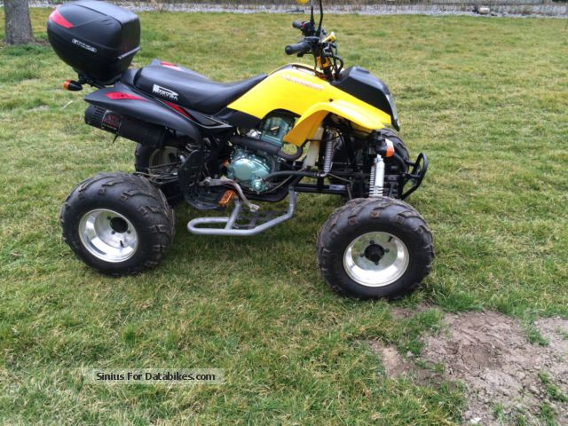 2014 Bashan  BS200S-7 ATV only 124 Km like new TÜV / AU 9.2017 Motorcycle Quad photo
