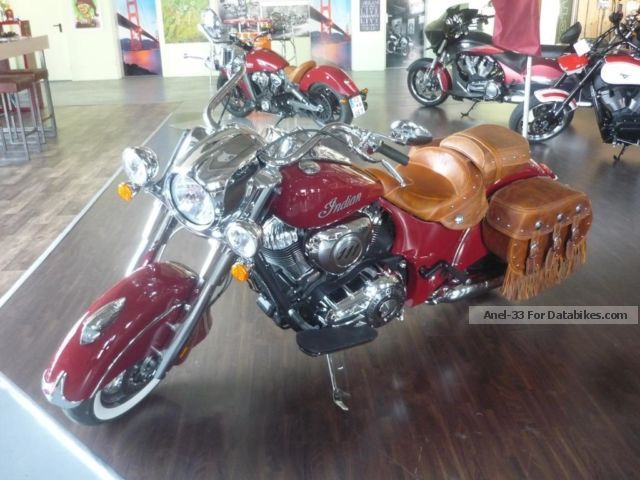 2014 Indian  Chief Classic Case 5 years warranty Motorcycle Chopper/Cruiser photo